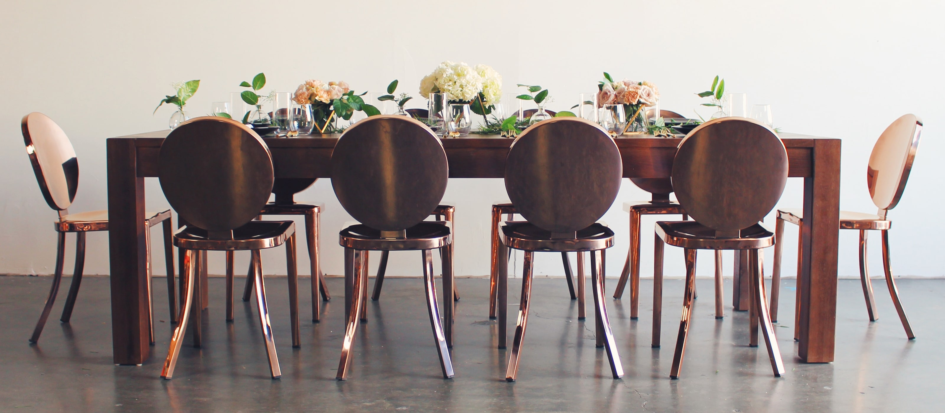 Header_Rose Gold Dining HOMEPAGE_Dark Wood